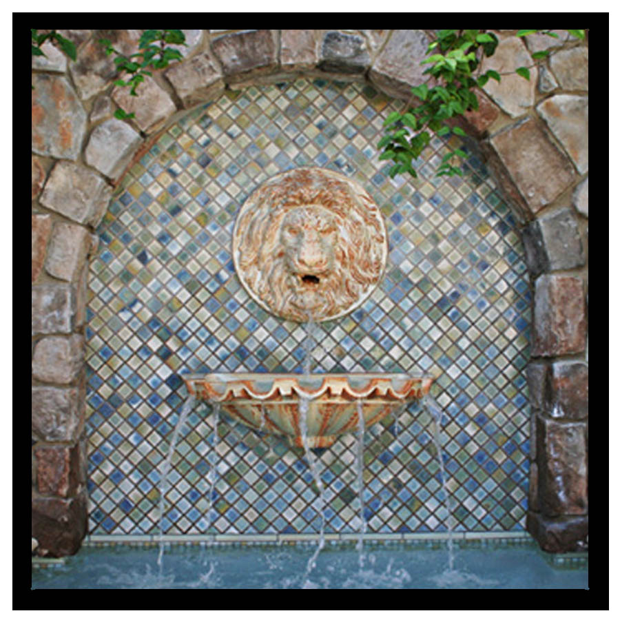 ATQ Lion Head Fountain
